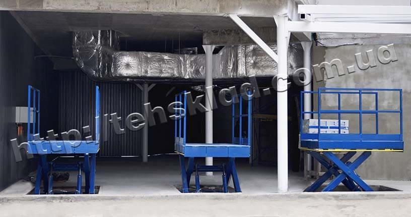 гидравлический грузовой лифт